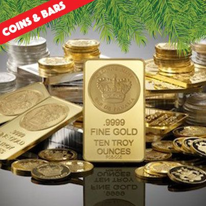 Give the #gift of #goldcoins & bars, it makes cents! This is a golden opportunity for you & your #future generations to increase overall returns over the long term. #CoinDealer #Carlsbad #Bullion #silvercoins #goldbars #siverbars
