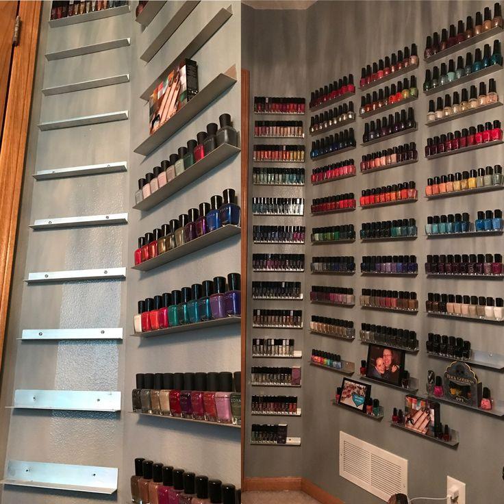 DIY nail polish storage | Diary of a Nail polish addict ...