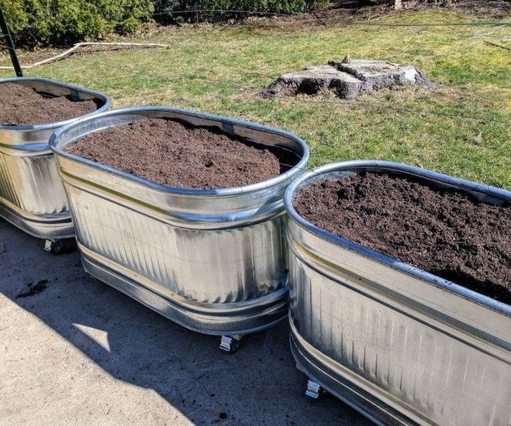 Want to make cool water trough planters? So did I! Here's how I did it.Why water troughs?Lots of reasons.We live in an old house, and old houses tend to have lead in the soil. The nice folks at UMass tested our soil and confirmed it does, in fact, have lead. So we can't have a normal garden in the ground.Last year, we tried straw bale gardening. It was great, but some plants (namely basil, carrots, cabbage, a few others) did terribly in the bales.Mrs. MakerJosh grew up wit...