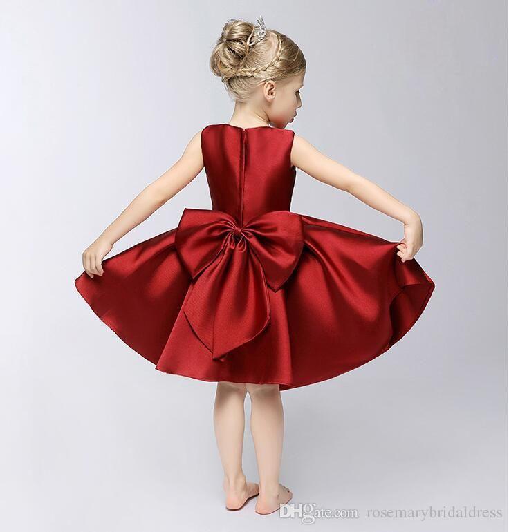 Vestido de fiesta ceremonias Niñas Bebé Niños Ropa para Niños para Boda Baile Vestido