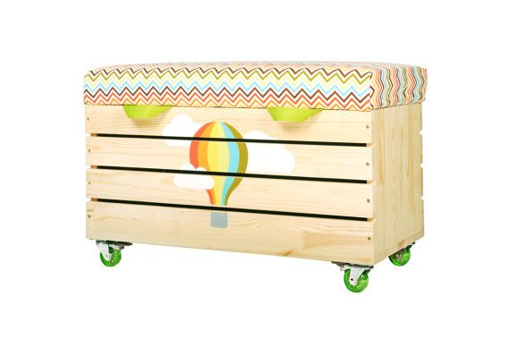 Aangepaste speelgoed borst kinderkamer speelgoed box door NOBOBOBO