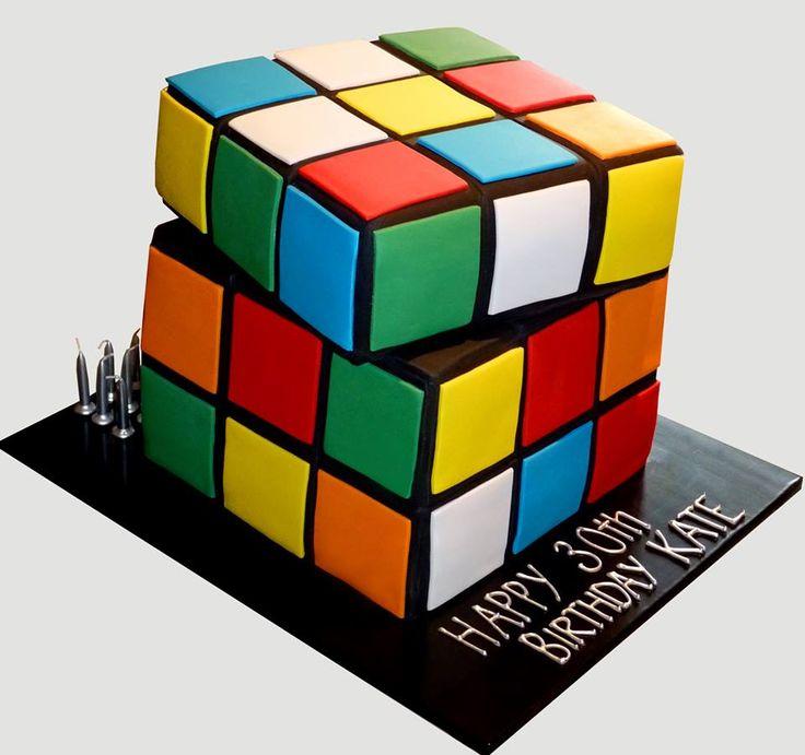 rubicube cake D