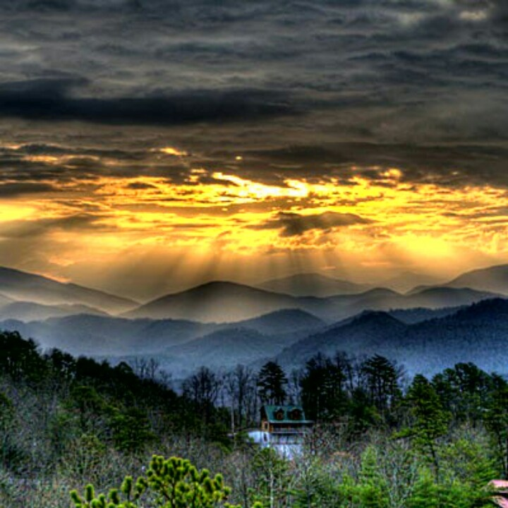 The great Appalachian mountains--home.