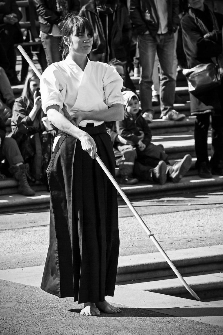 Naginata B/W by attomanen.deviantart.com on @deviantART [ Swordnarmory.com ] #Martial #arts #swords