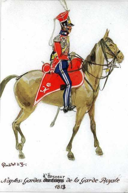 Guardia d'onore della guardia reale di Napoli