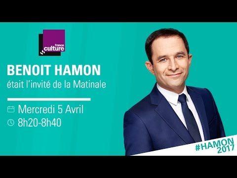 Le journal de BORIS VICTOR : Benoît Hamon invité de france culture 05/04