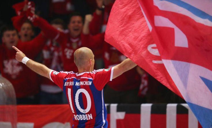 Arjen Robben, 05/17/14, FC Bayern München vs. Borussia Dortmund 2:0