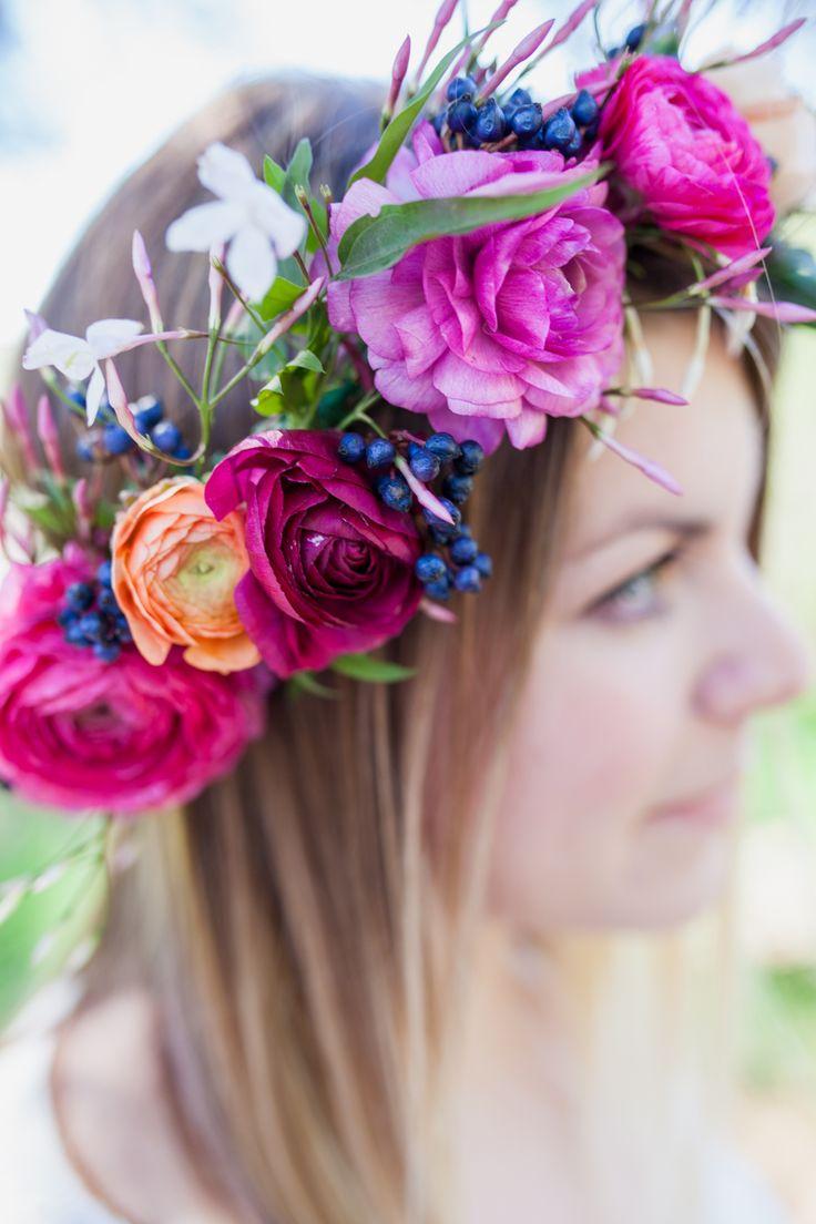 Diy spring flower crown tutorial diy flower crown first