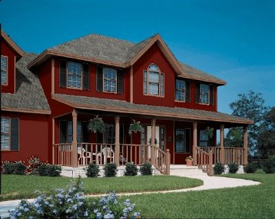 1000 Images About Red House Brown Trim On Pinterest Red Houses Red House Exteriors And