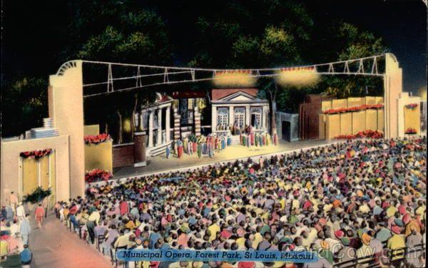 Municipal Opera, Forest Park Saint Louis Missouri