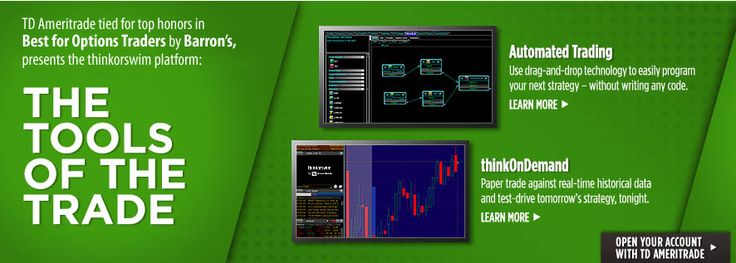 Thinkorswim automated trading drag and drop