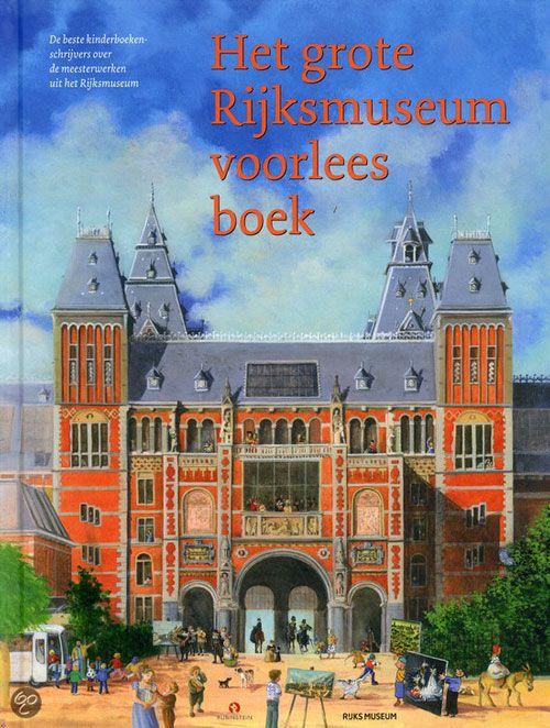 Eerst alle verhalen voorlezen, dan met de kids naar het museum. Een A4 maken met alle schilderijen erop en op zoek!