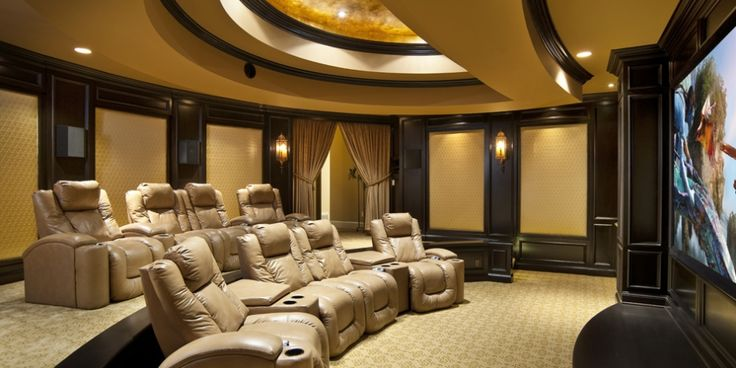 Home Theatre Interior Design Model Delectable Inspiration