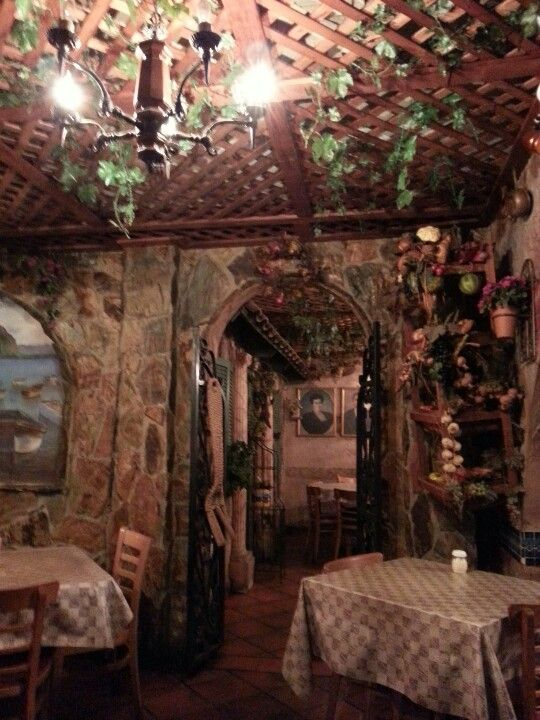 Best italian restaurant decor ideas on pinterest