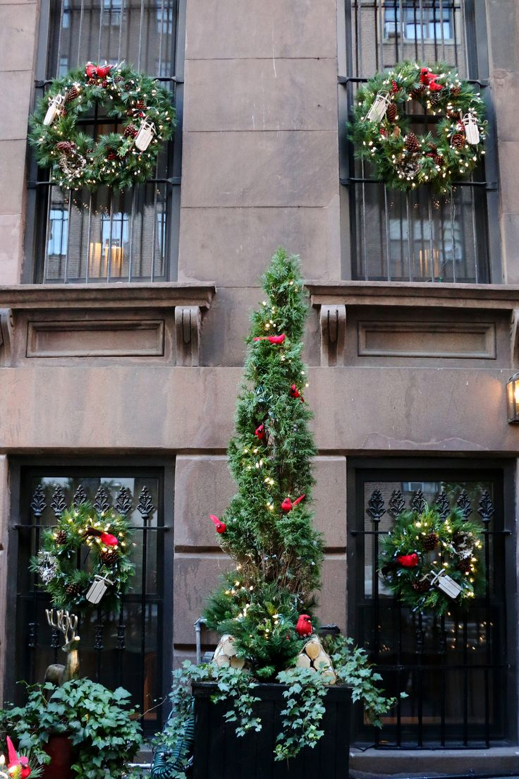 Holiday decoration in Manhattan