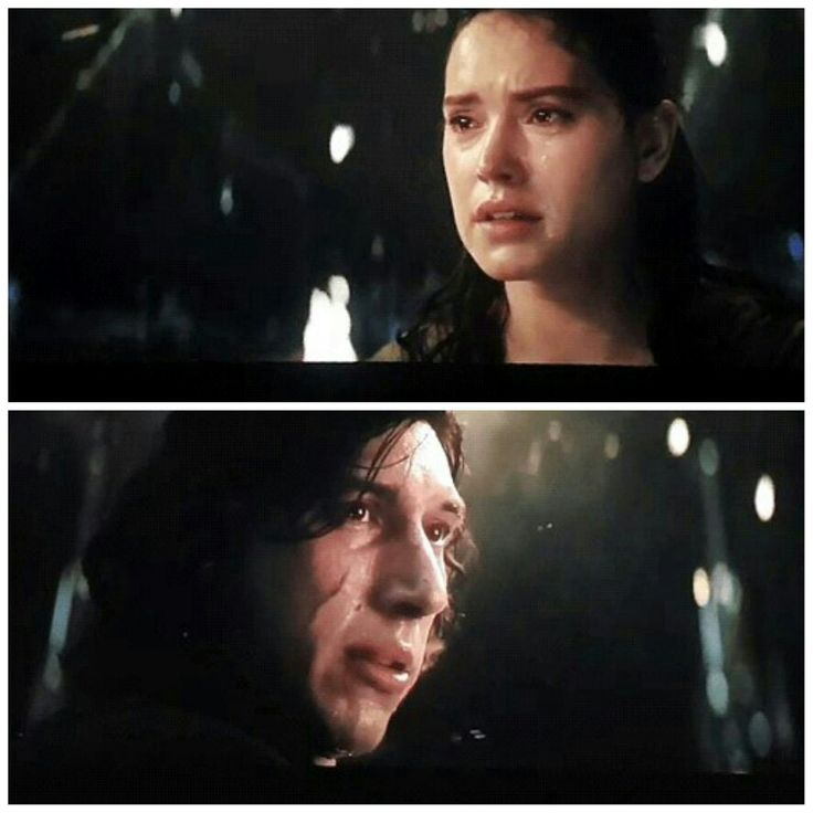 """You're nobody to them ... But not for me."" #Last Jedi #Reylo #Rey x Kylo Ren"