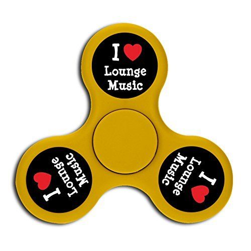 I Love Lounge Music High Speed Fingertip Gyro Fidget Spinning Toys For Kids Adults ADHD. #Love #Lounge #Music #High #Speed #Fingertip #Gyro #Fidget #Spinning #Toys #Kids #Adults #ADHD