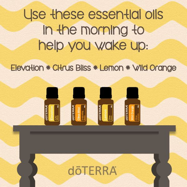 doTERRA Essential Oils Wake Up Diffuser Blend