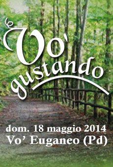 Vo' Gustando 2014 - 4^ Edizione / domenica 18 maggio 2014 / #Passeggiata #enogastronomica nel #Parco Regionale dei #Colli #Euganei con #degustazione di #vini e #prodotti tipici. Info: www.comune.vo.pd.it