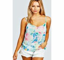 boohoo Gianna Bright Cloud Print Cami - multi azz30162 Send your style sky high in this pastel coloured cami top . Wear it with white skinnies , chunky flatforms and a holographic clutch . http://www.comparestoreprices.co.uk/womens-clothes/boohoo-gianna-bright-cloud-print-cami--multi-azz30162.asp