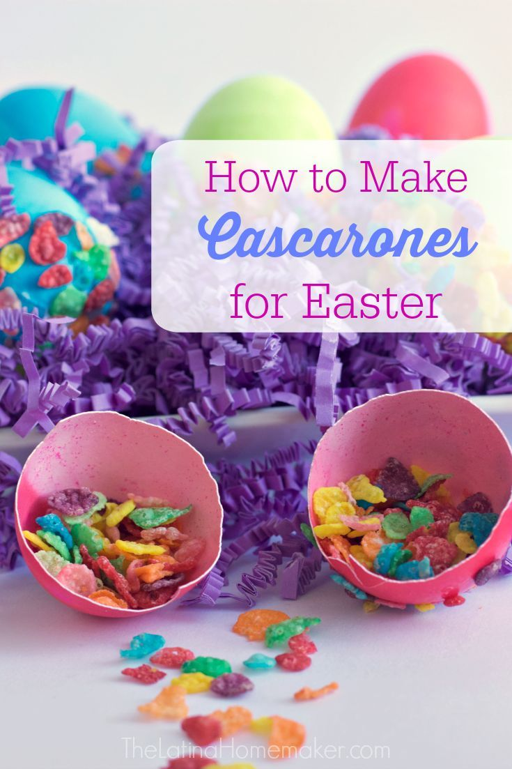 How to Make Cascarones for Easter. Try a new tradition this Easter by making cascarones! Your kids will have a blast breaking them over their sibling's head. AD