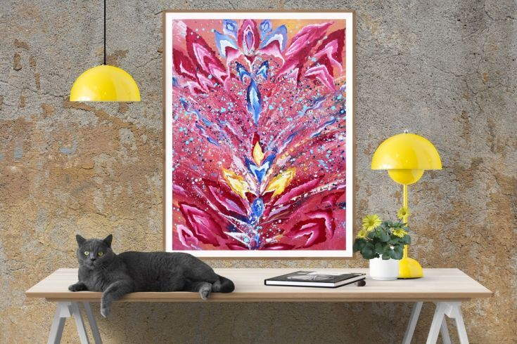 Buy Chakra 3D nebula with 3 layers, Acrylic painting by Silvie Tripes on Artfinder. Discover thousands of other original paintings, prints, sculptures and photography from independent artists.