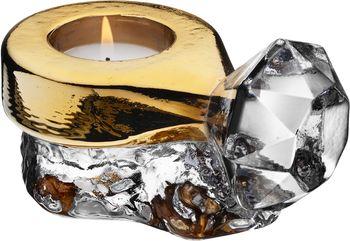 Make Up Ring Hurricane Gold, �sa Jungnelius, Kosta Boda - K�p glas hos ArtGlassVista!