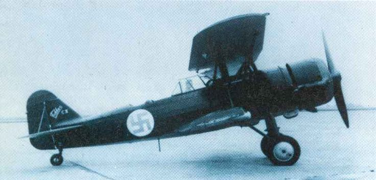 Dutch Fokker in Finnish Air Force