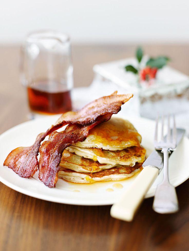 Rachel Allen's American-style pancakes recipe is ideal for a special breakfast or brunch.