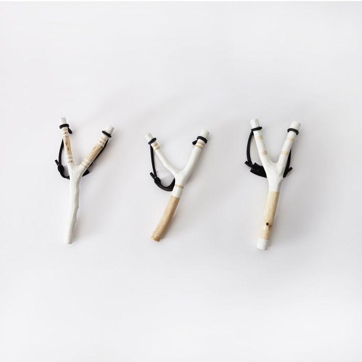 Handcarved Slingshot - Desk & Paper - Art & Lifestyle