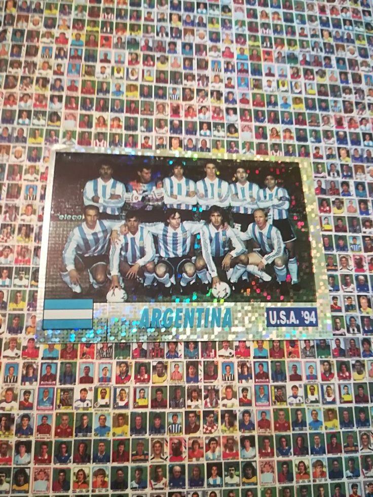 ARGENTINA TEAM #188 Diego Maradona Gabriel Batistuta World Cup 1994 94 SL Italy   eBay