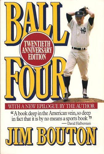 """Ball Four"" by Jim Bouton."