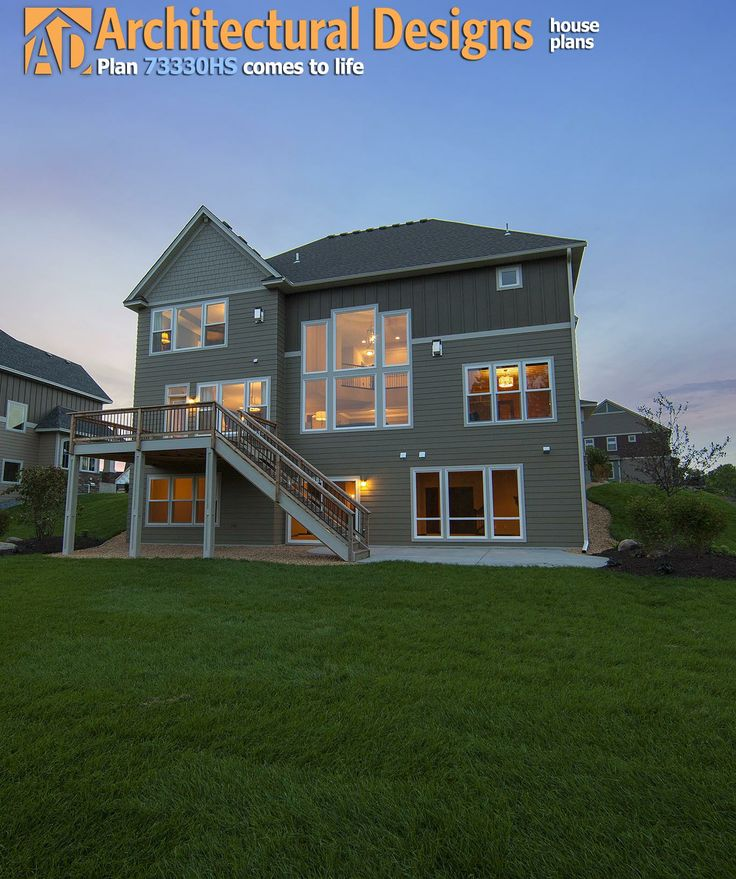 Plan 73330HS Craftsman With Amazing Great Room