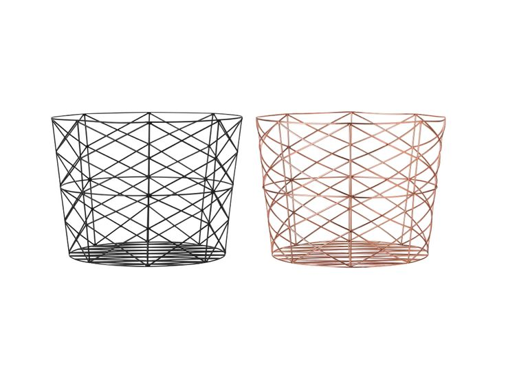 13 best storage images on pinterest pocket organizer brass and large wire baskets in either copper or black makes a good side table if you greentooth Image collections