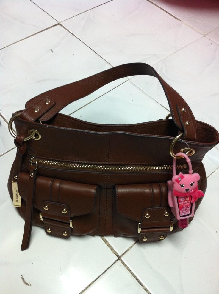 Franco Sarto soft gold romy handbag