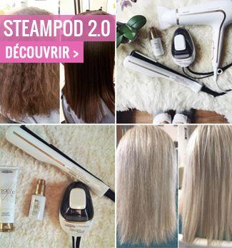 nouveau lisseur steampod 2.0 coiffure