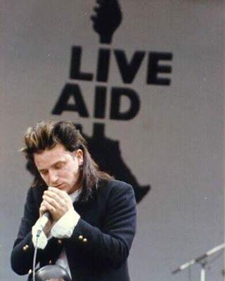 U2 - 13th July 1985, Live Aid