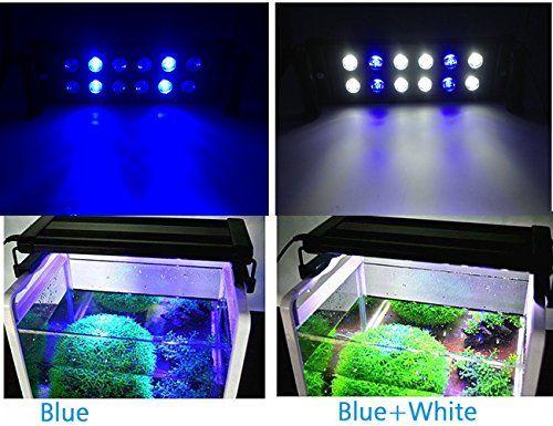 led reef aquarium lights for saltwater coral fish tank aquantic