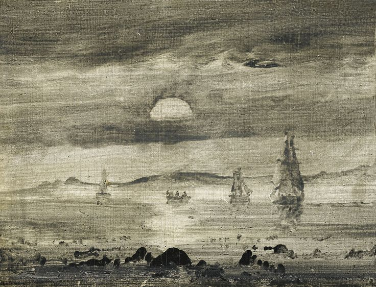 Peder Balke (1804-1887), Seascape