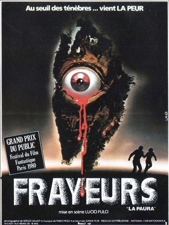 Lucio Fulci s ultra gory gothic tinged nightmare on a French poster  Film  students take note  this movie features the best  death by power drill   scene in. 17 Best images about Movie Posters Art on Pinterest   Vintage
