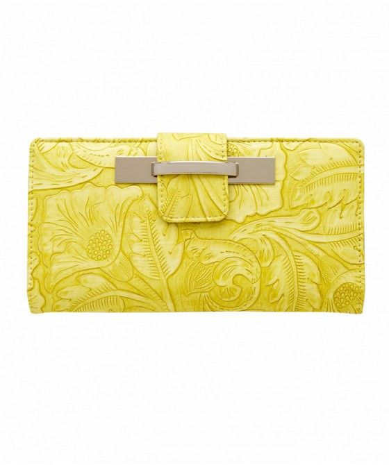 EMBOSSED FASHION WALLET - Bags - Accessories