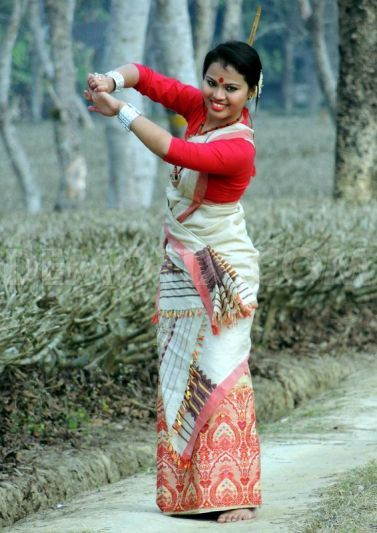 The Traditional Dresses Of The Ahoms : Assamese Culture ...