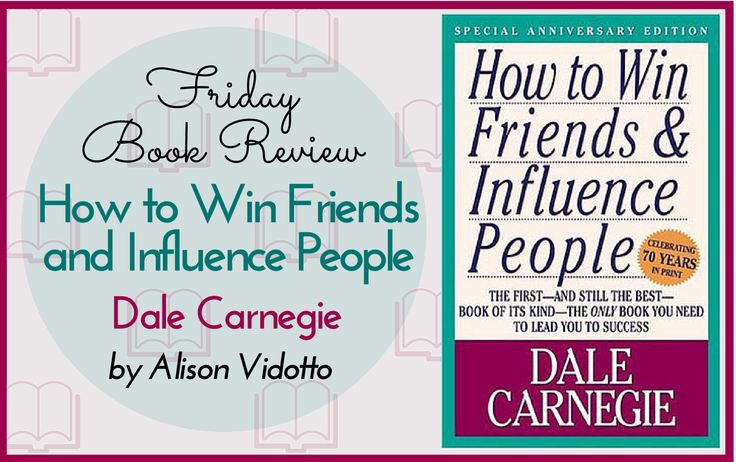 This book is great both personally and professionally. It is full of solid, basic advice for building the relationships in your life and in your business.  http://www.pushbusinesstraining.com/how-to-win-friends-and-influence-people/ #BookReview