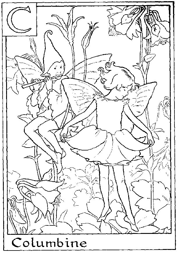 155 best Faerie Coloring Pages images on Pinterest | Coloring books ...