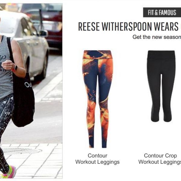 Reese Witherspoon Sweaty Betty