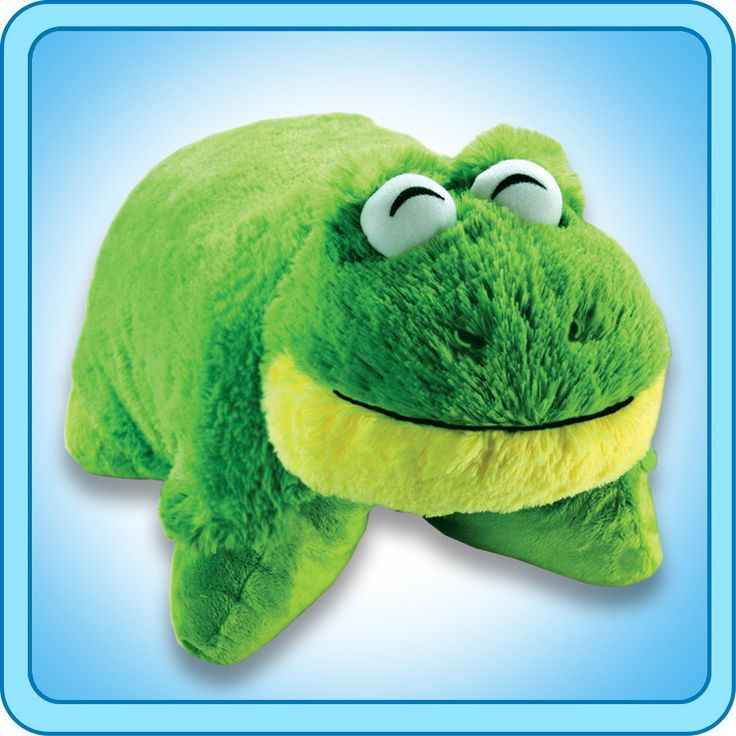 PeeWee Friendly Frog | My Pillow Pets® Canada