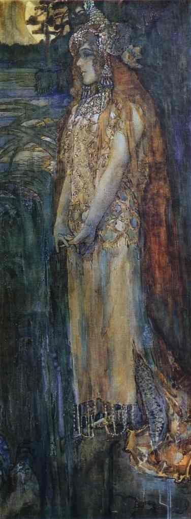 Nadezhda Zabela-Vrubel as Princess Volkhova Painting from http://en.wahooart.com/A55A04/w.nsf/OPRA/BRUE-8CAC4U