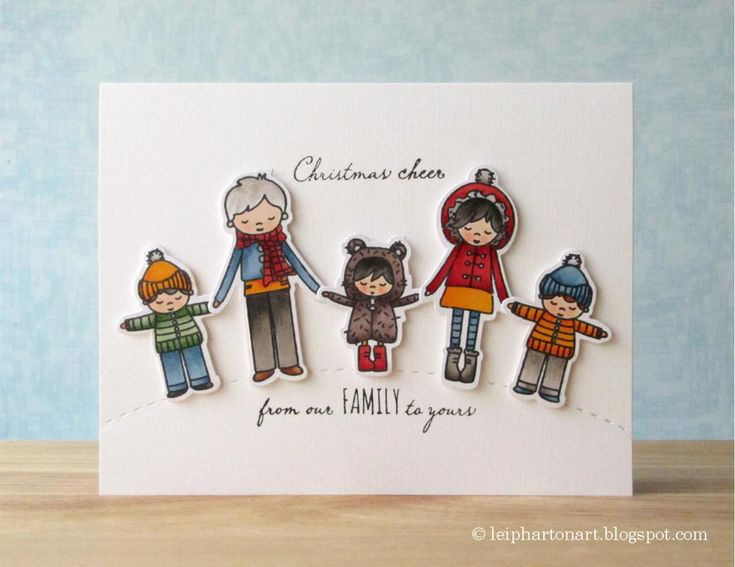Art♥from♥the♥Heart: {Mama Elephant} Alpine Carolers