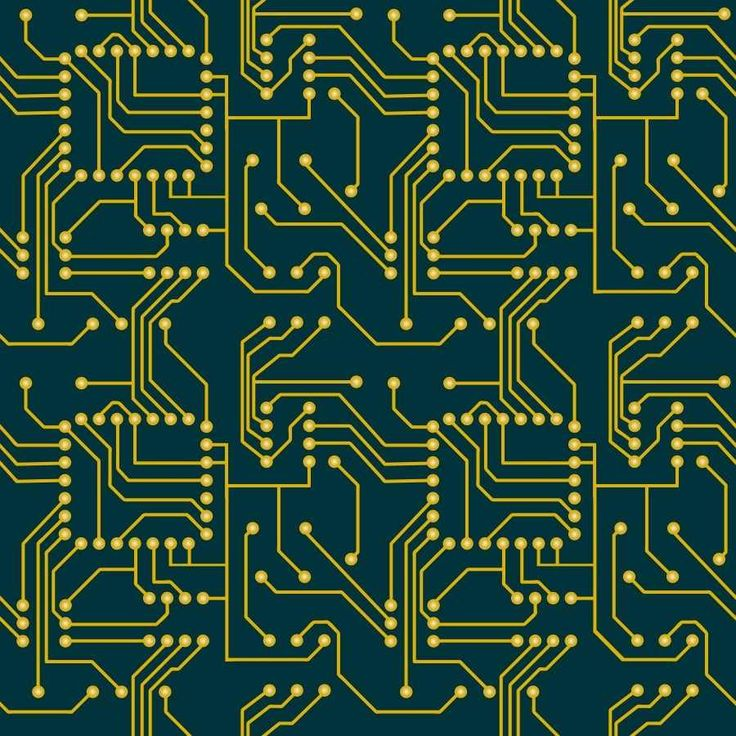 Circuit Background | Circuit Seamless Pattern | Seamless ...