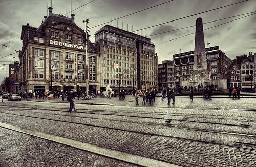 Amsterdam's Dam Square